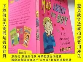 二手書博民逛書店mad罕見about the boy: 對那個男孩很生氣Y200392