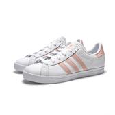 ADIDAS ORIGINALS COAST STAR 白 粉 基本款 休閒鞋 女 (布魯克林) EE8910