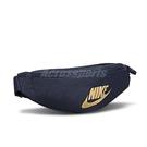 NIKE 腰包 Sportswear Heritage Hip Pack 藍 金 男女款 外出 隨身小包【ACS】 BA5750-452