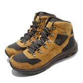 Merrell 戶外鞋 Ontario 85 Mid Waterproof 卡其 咖啡 男鞋 運動鞋 【ACS】 ML033867