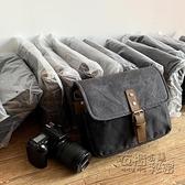單肩攝影包單反富士佳能徠卡索尼帆布相機包微單復古防水Xpro3 雙十二全館免運