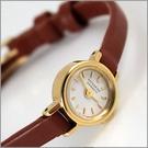 【萬年鐘錶】KATHARINE HAMNETT 古典時尚皮錶 KH7811-04
