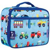 【LoveBBB】美國標準無毒 Wildkin 33079 交通工具大集合 午餐袋/便當袋 [萊恩馬麻大推~萬用餐具袋]