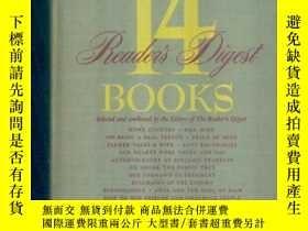 二手書博民逛書店14罕見reader s digest books 48年版