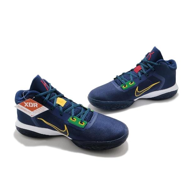 Nike 籃球鞋 Kyrie Flytrap IV EP 藍 黃 男鞋 平民版 XDR 厄文 【ACS】 CT1973-400