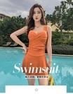 泳衣女泡溫泉保守顯瘦遮肚性感韓國新款連體...