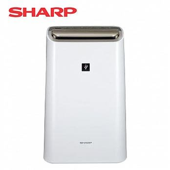 SHARP夏普 12L空氣清淨除濕機 DW-H12FT-W 白