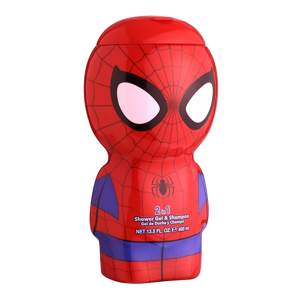 SPIDERMAN 蜘蛛人限定版 2合1沐浴洗髮精 400ml【Emily 艾美麗】