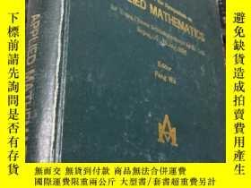 二手書博民逛書店Proceedings罕見of the Symposium on APPLIED MATHEMATICSY58