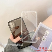 【買一送一】簡約純色透明適用iphone11promax蘋果12手機殼【西語99】