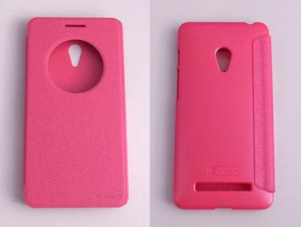 NILLKIN ASUS ZenFone 6(A600CG) 側翻手機保護皮套 內硬殼 SPARKLE 新皮士系列-星韻