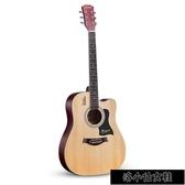 吉他初學者學生女男新手入門練習木吉他41寸樂器 QQ22061