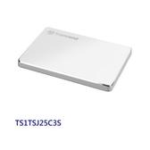 新風尚潮流 創見 外接式行動硬碟 【TS1TSJ25C3S】 1TB 25C3S 支援 USB 3.1 AC 鋁殼設計