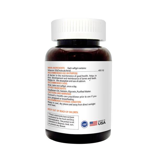愛維他 高單位維生素D3 400IU(60顆/瓶)/Lovita 大樹