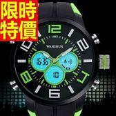 運動手錶-防水精美戶外電子錶5色61ab21[時尚巴黎]