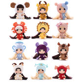 《 DDung 冬己娃娃 》冬己娃娃 - 12星座系列╭★ JOYBUS玩具百貨