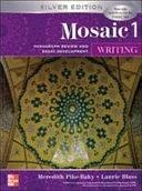 二手書博民逛書店 《Mosaic One: Writing》 R2Y ISBN:0071258450