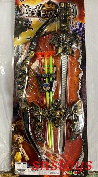 sns 古早味 懷舊童玩 塑膠弓箭 塑膠劍 弓箭 寶劍 吸盤弓箭組 可打玻璃