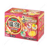 [霜兔小舖]日本 地球製藥 溫泡碳酸泡澡錠  入浴劑 生薑 20錠