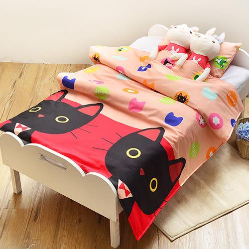 義大利Fancy Belle X Malis《Mr.卜力》兒童純棉防蹣抗菌兩用被枕頭2件組