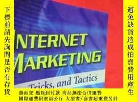 二手書博民逛書店Internet罕見Marketing: Tips, Trick