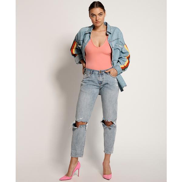 ONETEASPOON MONTANA BLUE AWESOME BAGGIES STRAIGHT LEG JEAN 牛仔褲- 藍(女)