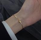 手鐲 925純銀手鐲女輕奢精致閨蜜手鏈2021年新款潮小眾設計簡約手飾【快速出貨八折搶購】