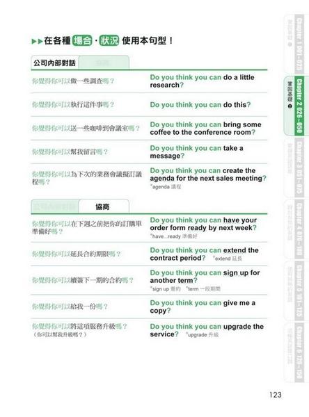 用簡單英文聊不停 :用國中英文就能應付80%的職場會話