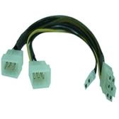 大4P*2 轉 PCI-E 6+2顯示卡電源線