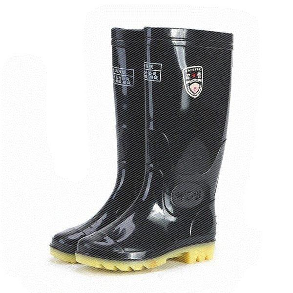 男士時尚高筒雨靴