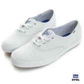 Keds 新竹皇家 CHAMPION  LEATHER 白色 皮質 休閒鞋 女款 NO.I6825