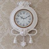 鐘表歐式掛鐘創意客廳靜音美式石英大氣家用時尚個性田園掛表時鐘 居享優品