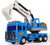 大號挖掘機模型寶寶工程車
