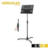 【南紡購物中心】指揮譜架 HERCULES BS311B 坐立二用指揮型大譜架 洞洞譜板 面板可折疊