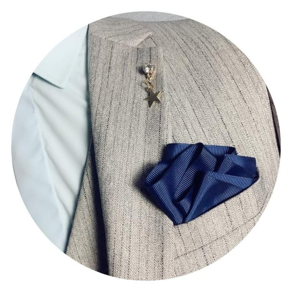 男士正裝結婚西裝口袋巾 英倫方巾