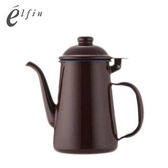 日本高桑elfin 琺瑯手沖壺-咖啡