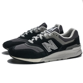 NEW BALANCE 997H 黑 灰 麂皮 銀 休閒鞋 男女 (布魯克林) CM997HBK