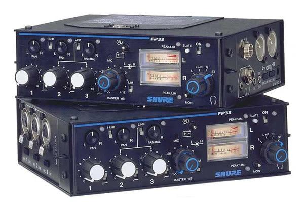 美國SHURE混音器 FP33頂級人聲收音 專業首選