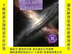 二手書博民逛書店Cutting-Edge罕見Black Holes Resear