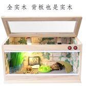 【非主圖款】陸龜飼養箱刺猬鳥蜥蜴蜘蛛飼養箱