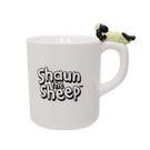 【日本正版】笑笑羊 陶瓷 馬克杯 270ml 咖啡杯 尚恩 - 043372