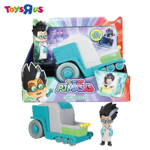 玩具反斗城 PJ Masks 3吋可動人偶汽車組(款)