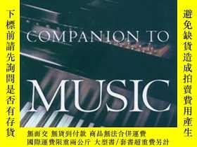 二手書博民逛書店The罕見Oxford Companion To Music (
