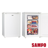 超下殺【聲寶SAMPO】87L直立式冷凍櫃冷凍櫃 SRF-90S