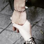 歐美時尚手表配飾手環簡約女款百搭飾品鈦鋼男女情侶手鐲刻字禮物【櫻花本鋪】