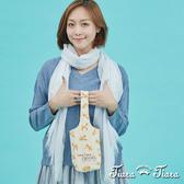 【Tiara Tiara】百貨同步 純棉多功能環保飲料提袋