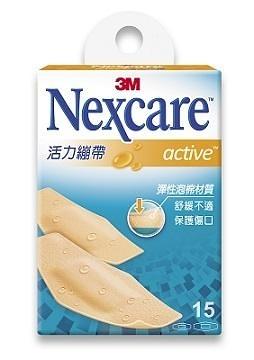 【3M Nexcare】活力繃帶 15片 /盒