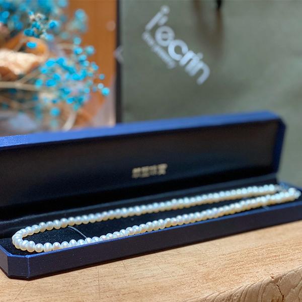 【LECRIN翠屋珠寶】天然珍珠項鍊7-7.5mm