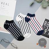 韓國熱賣直條紋短襪子❤️ 中筒襪 可愛 卡通 動物 古著 復古 阿華有事嗎