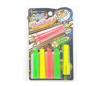 握筆器 鉛筆護套 日本SONIC SK-274-KE按鍵筆蓋6入- 螢光【文具e指通】  量販團購★
